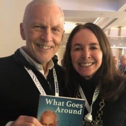 Rob Davis and Barbara Doran at the Terrific Hedge Connection