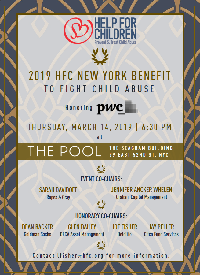 Hedge Funds Care New York Benefit 2019