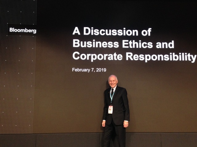 Bloomberg Conference on Business Ethics and Corporate Responsibility