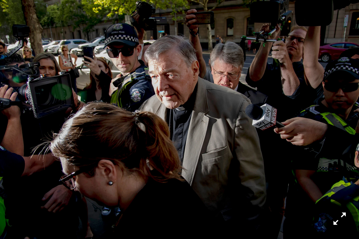 Cardinal George Pell of Australia Sentenced to Six Years in Prison