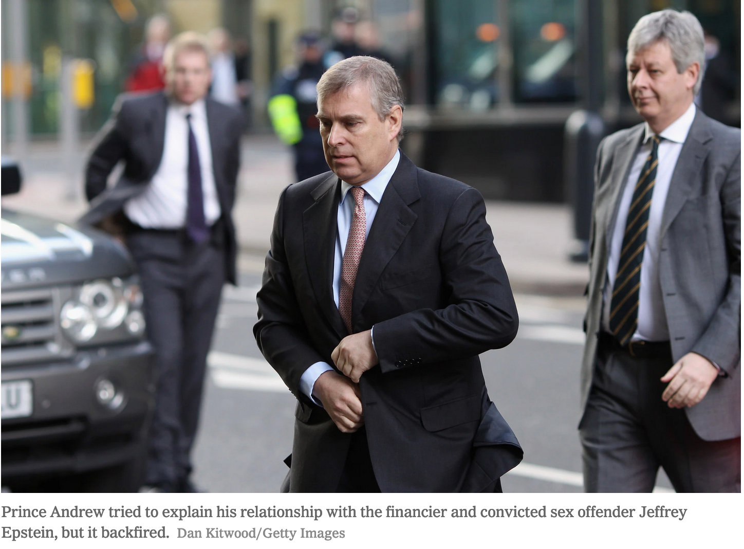 Prince Andrew Talks About His Ties to Jeffrey Epstein and Britain Is Appalled