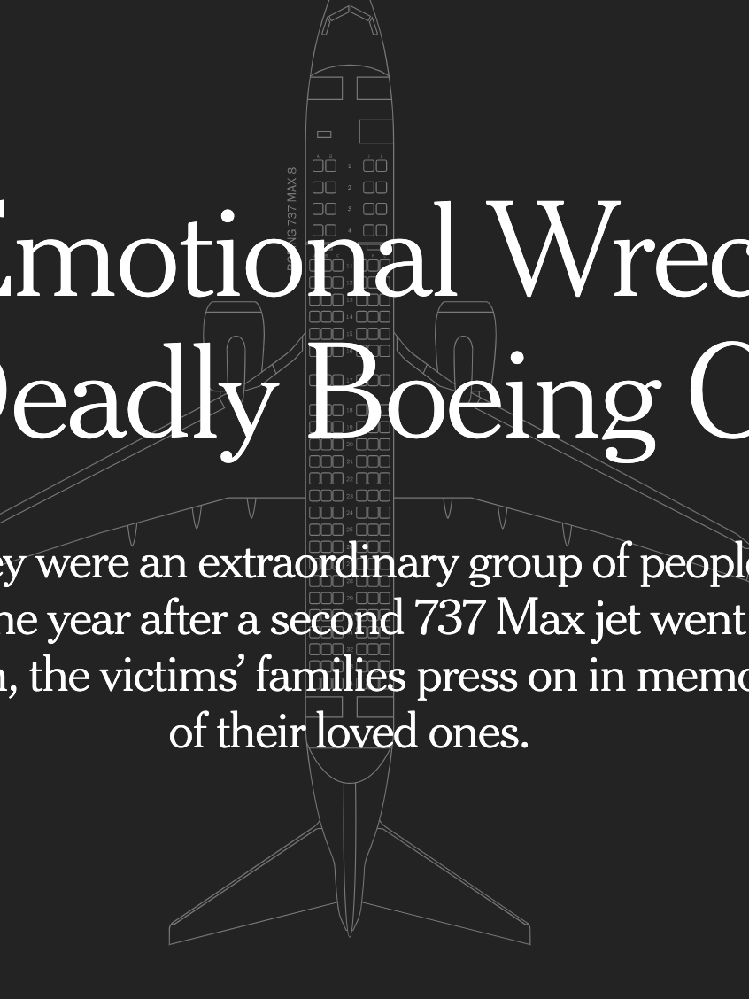The Emotional Wreckage of a Deadly Boeing Crash