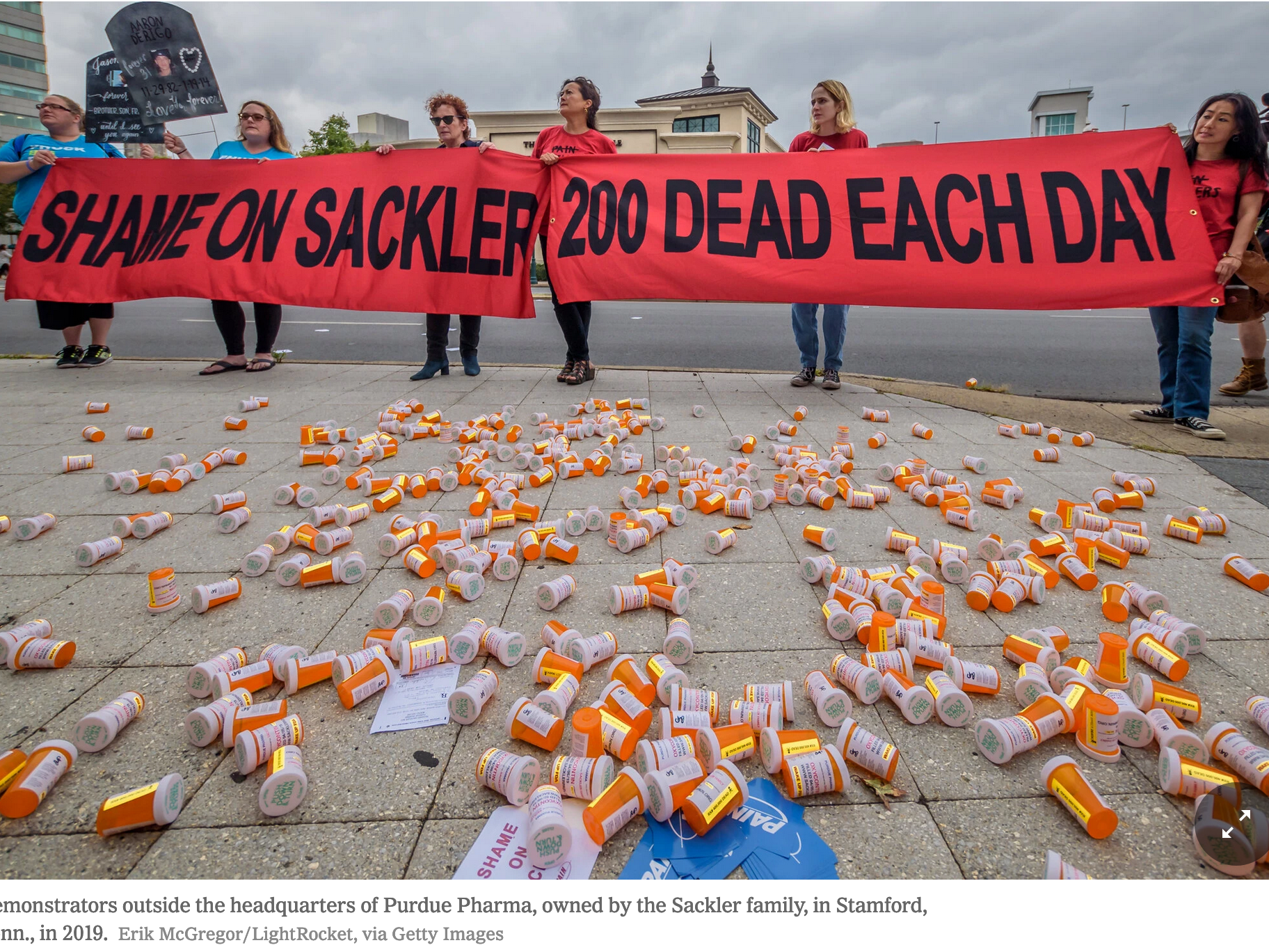 The Sad Sacklers Are Back In the News