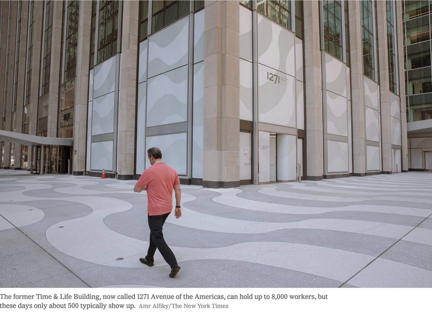 The Virus Turns Midtown Into a Ghost Town Causing an Economic Crisis