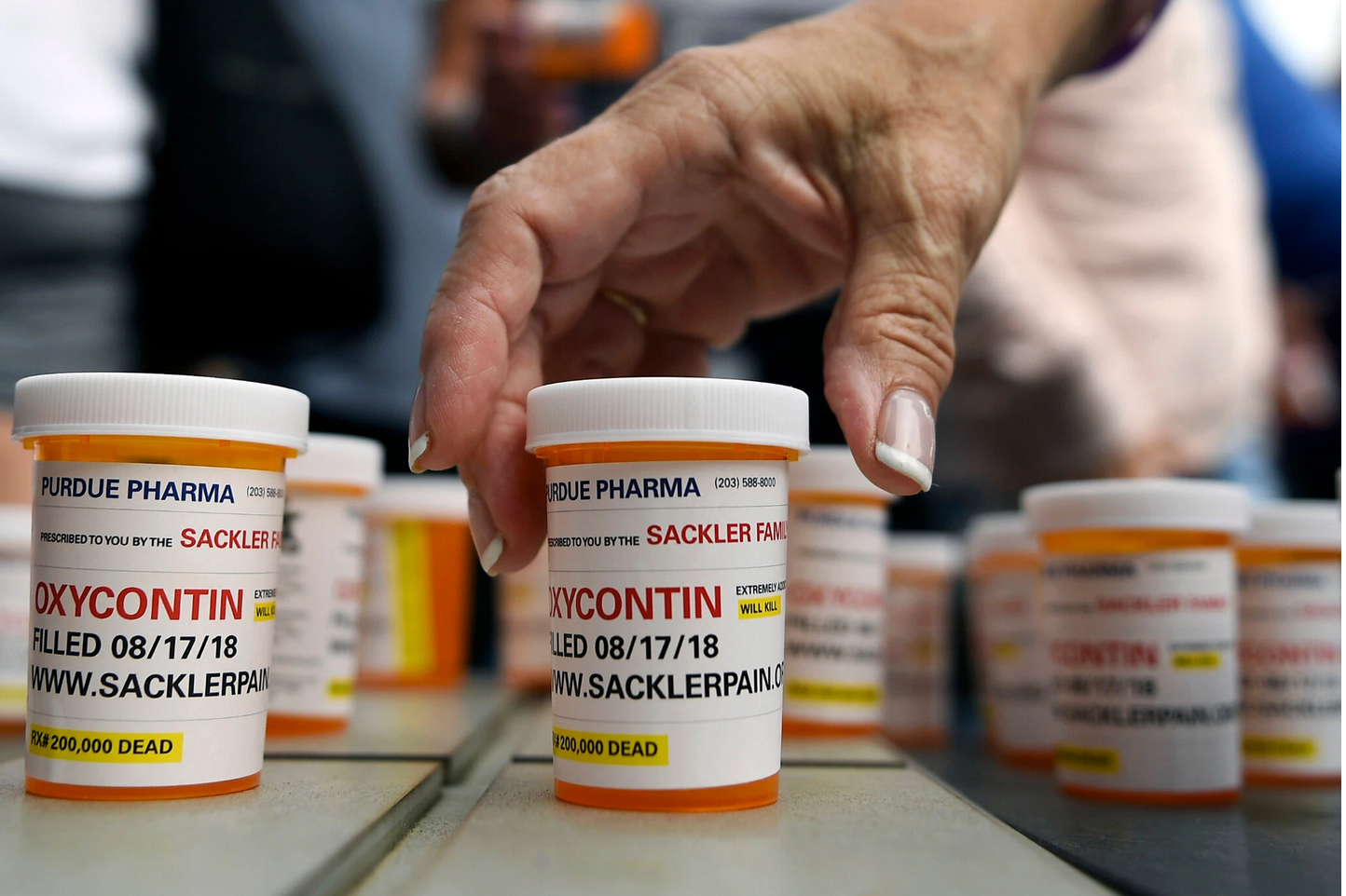 The Oxycontin Sackler Plot Thickens and Sickens