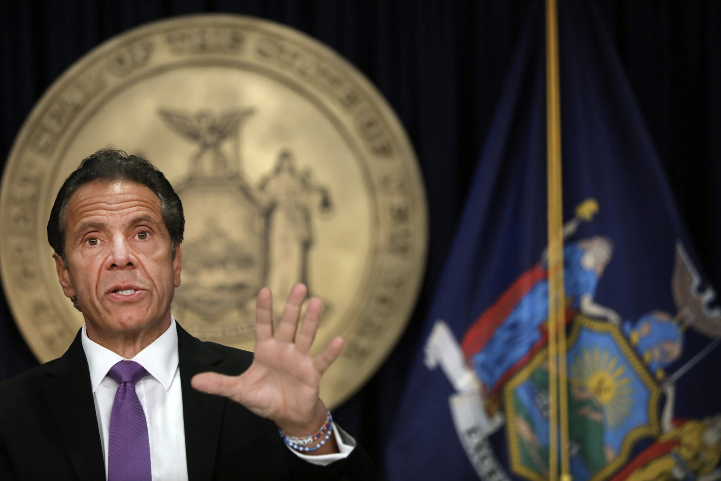 Cuomo Is Accused of Sexual Harassment by a 2nd Former Aide