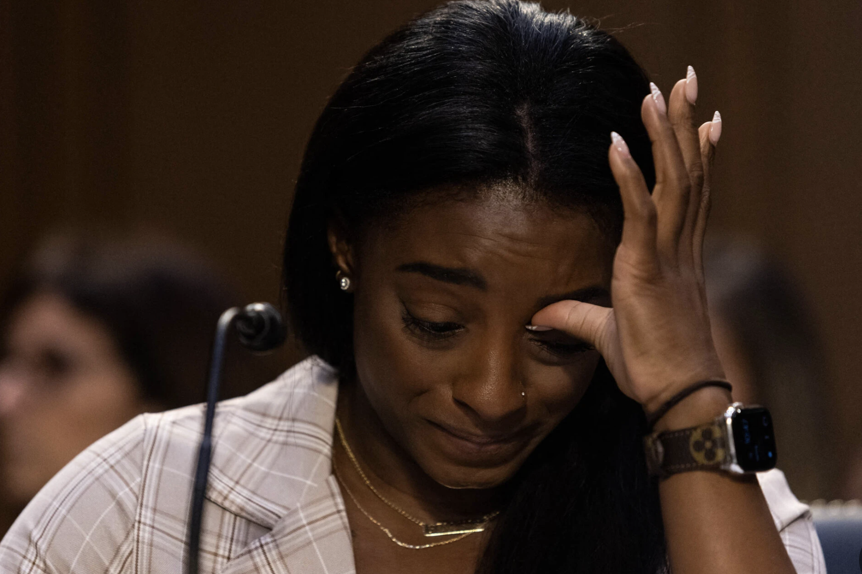 Biles and Her Teammates Rip the F.B.I.